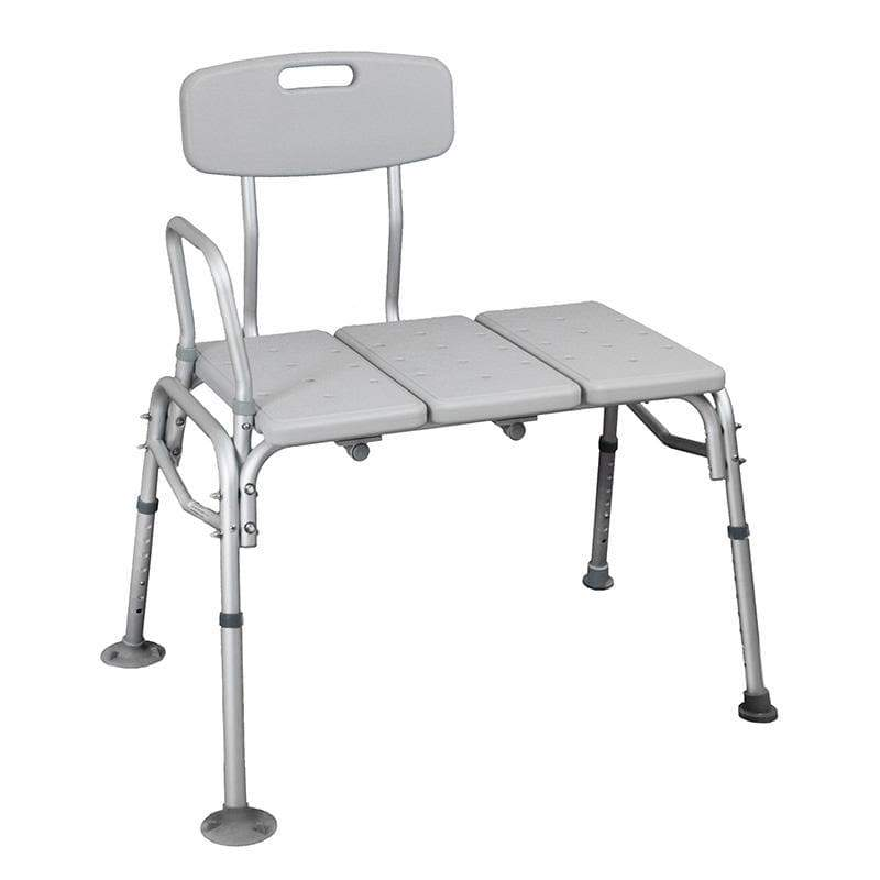 Bath Transfer Bench Aluminium SMBT5201 by SAFETY & MOB