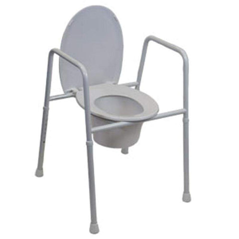Over Toilet Aid Height Adjustable with Lid-SAFETY & MOB-Breeze Mobility