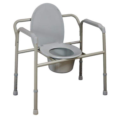 Bariatric Over Toilet Aid/Commode Chair SMBT7109 by SAFETY & MOB