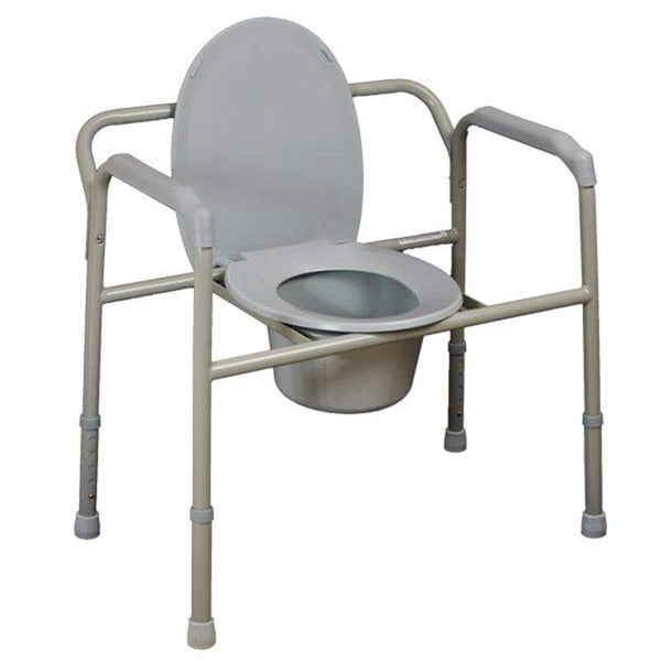 Bariatric Over Toilet Aid/Commode Chair, Breeze Mobility