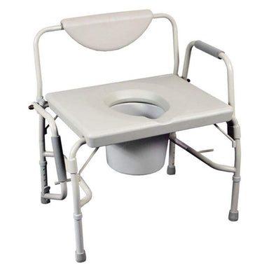 Bariatric Drop Arm Commode/Over Toilet Aid SMBT7206 by SAFETY & MOB