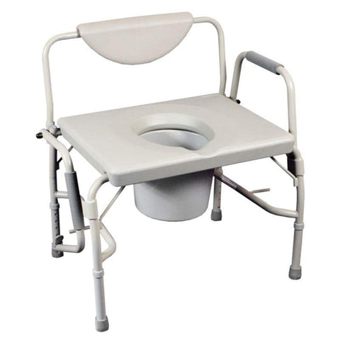 Bariatric Drop Arm Commode/Over Toilet Aid, Breeze Mobility