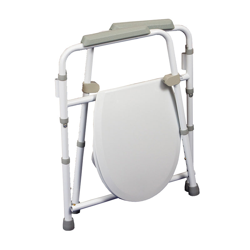 2 in 1 Folding Commode/Over Toilet Aid