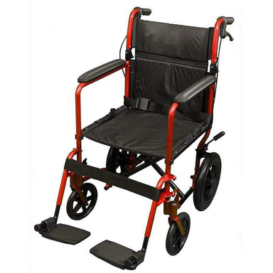 Lightweight Economy Transit Wheelchair SMW140 by SAFETY & MOB