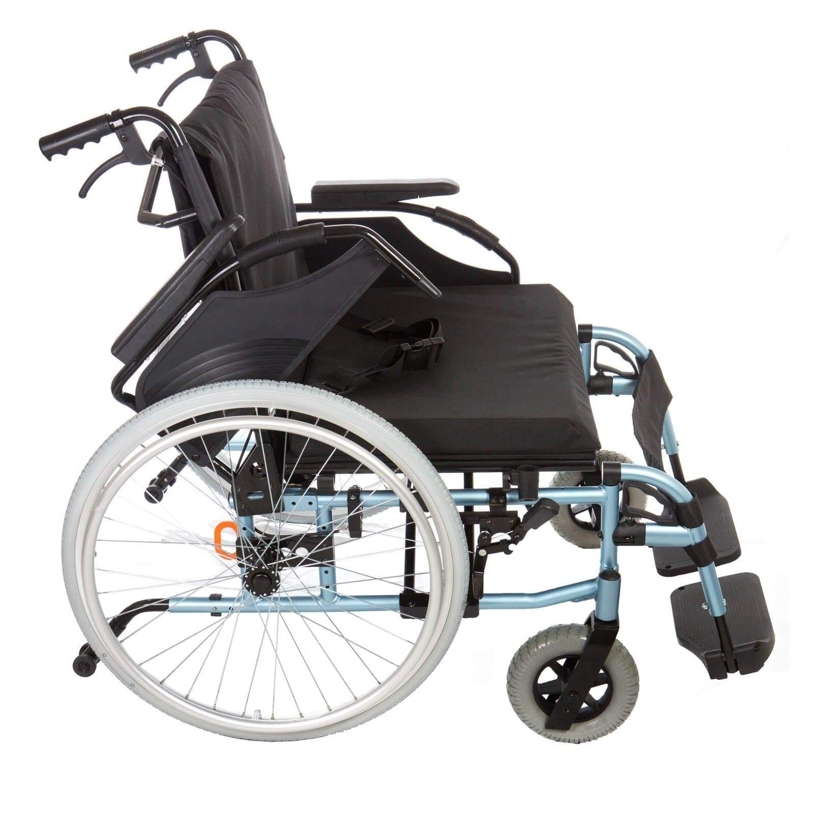 Bariatric Wheelchair - Max Weight 190kg SMW361 by SAFETY & MOB