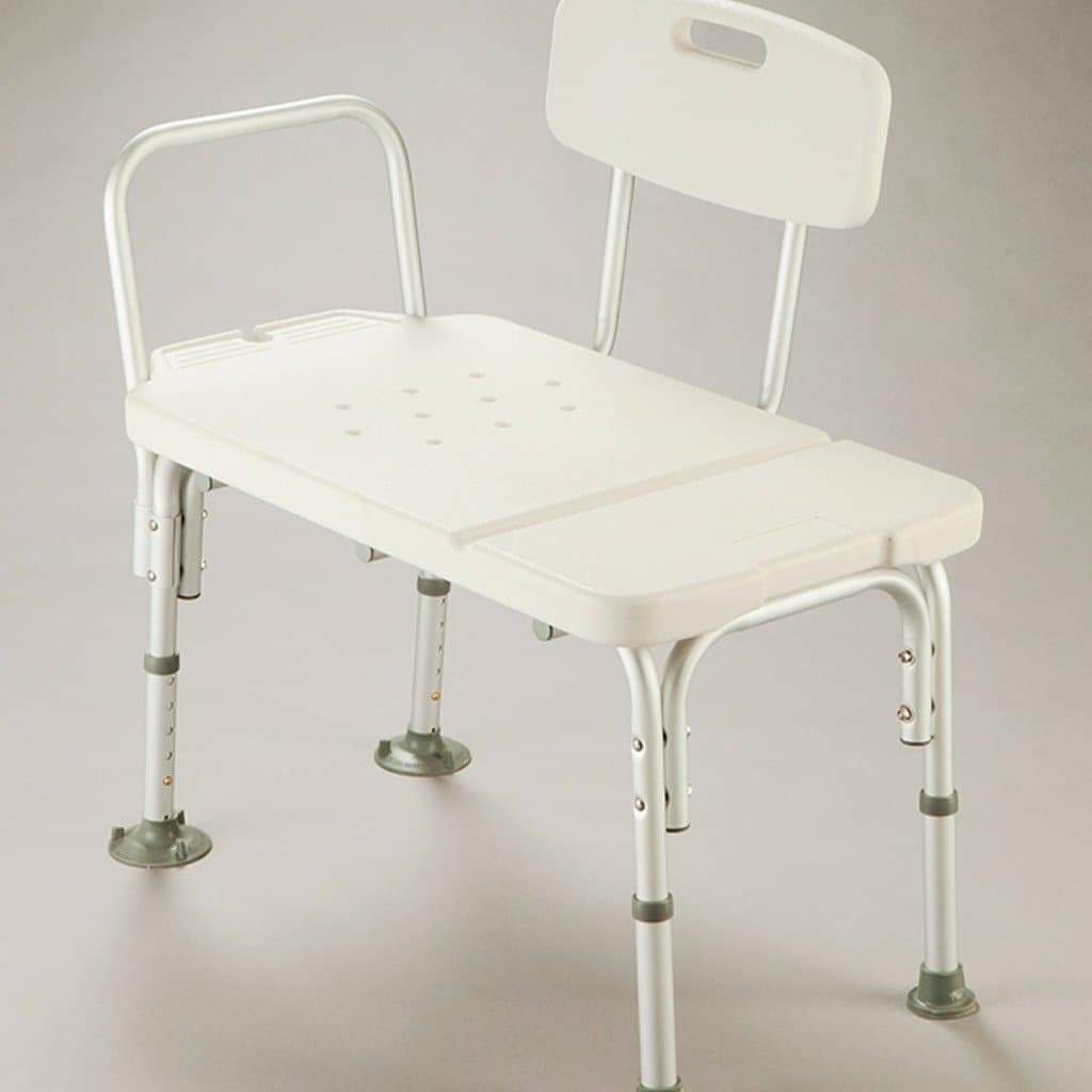 Care Quip - Transfer Bench - Heavy Duty, Breeze Mobility