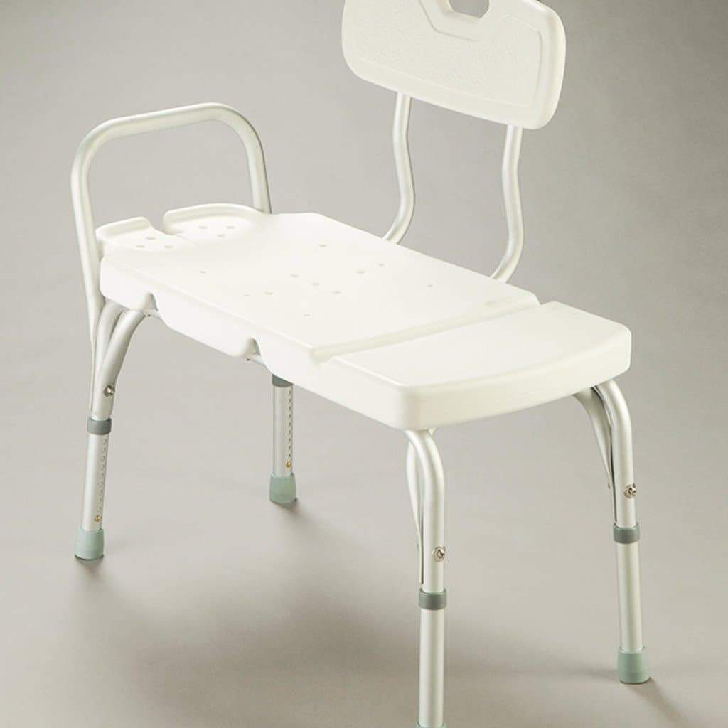 Care Quip - Transfer Bench - with Backrest AA0190 by Care Quip