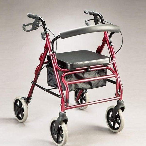 Care Quip - Trekker Duo Walker / Rollator 3737, Breeze Mobility