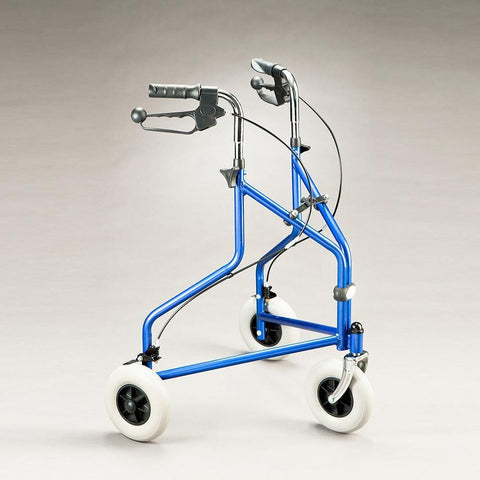 Care Quip - Tri Wheel Walker 2600 with Basket, Breeze Mobility