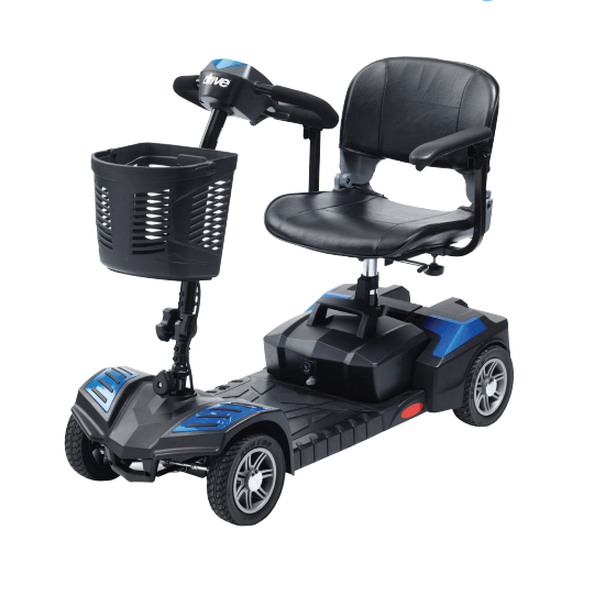 Venom 4 Wheel Scooter with 20ah Batteries Blue MS009RDAU-1 by Drive