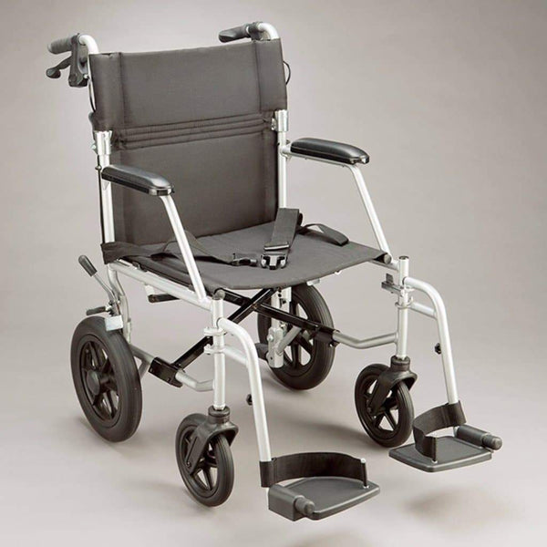 Care Quip - Vito Plus Transit Wheelchair 202, Breeze Mobility