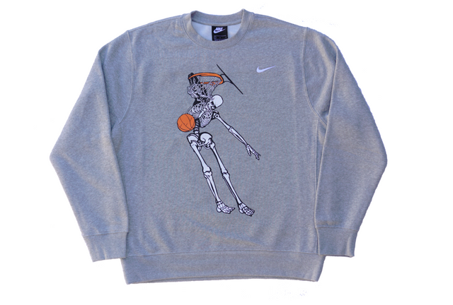 VC DUNK CREWNECK FLEECE [HEATHER GREY]