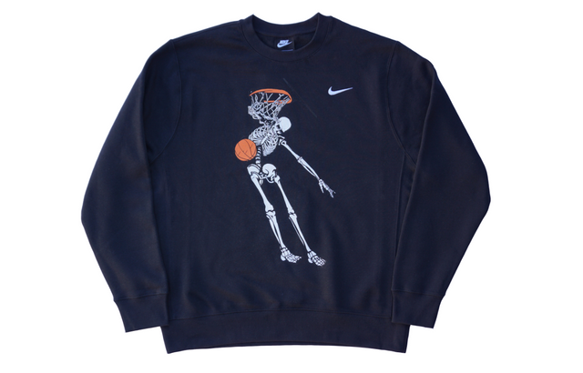 VC DUNK CREWNECK FLEECE [BLACK]