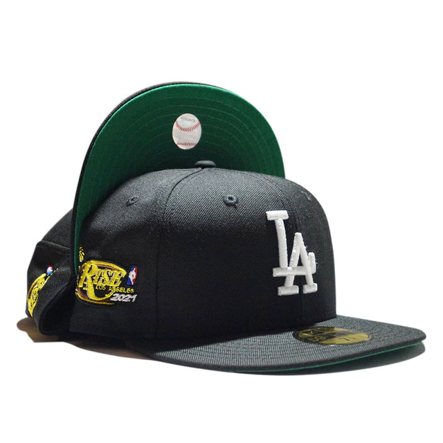 LAKER BLACK FITTED