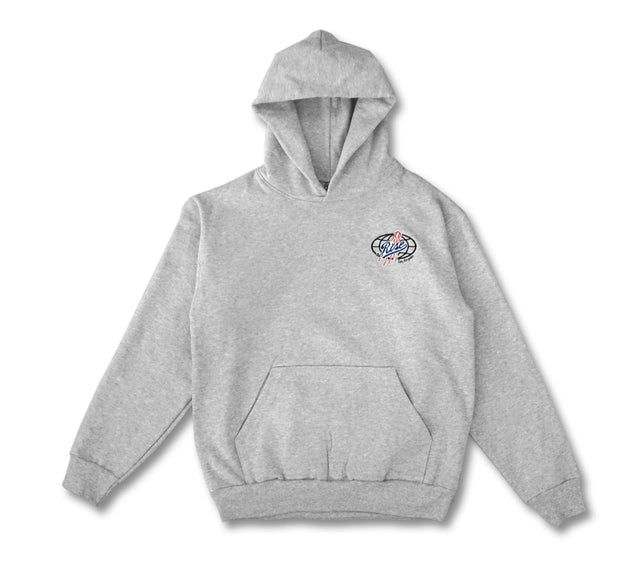 HOODIE - HEATHER GREY