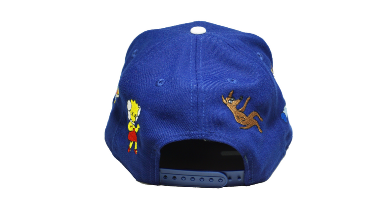KIMPSONS | SNAPBACK | BLUE
