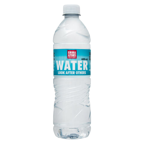 Emma and Toms 600ml Water