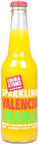Sparkling Valencia Orange - Emma and Tom's