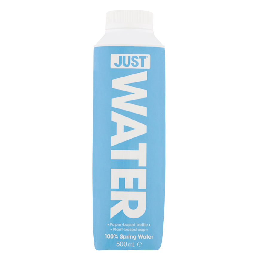 JUST WATER 500ML SPRING WATER (CARTON OF 12)