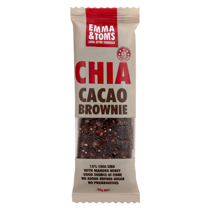 Chia Cacao Bars