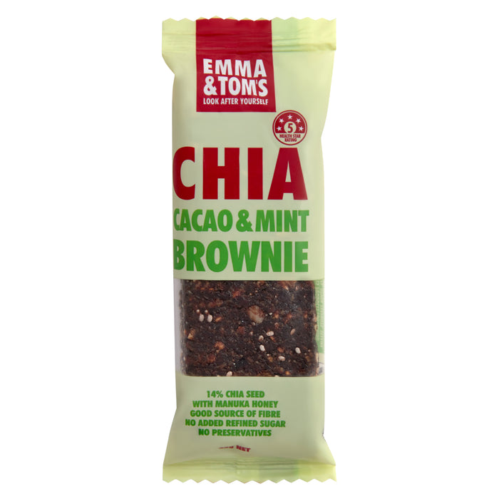 Chia Cacao & Mint Brownie