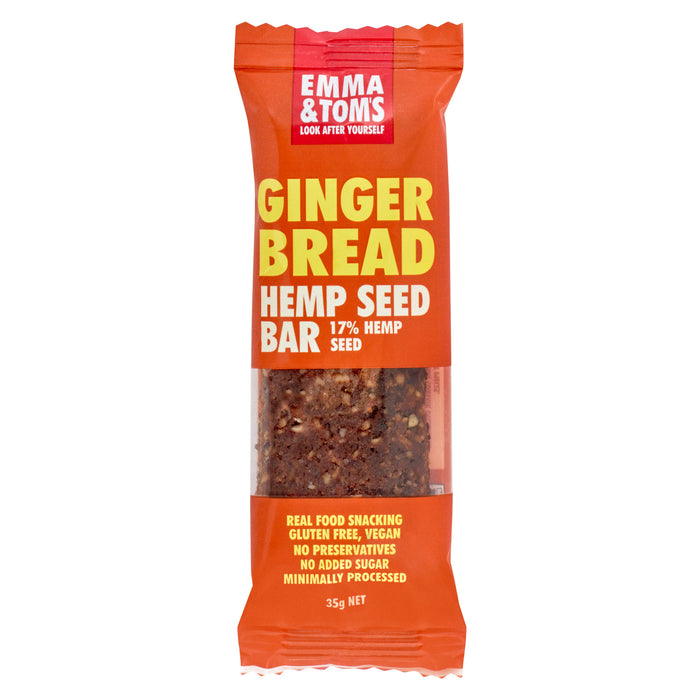 Gingerbread Hemp Bar