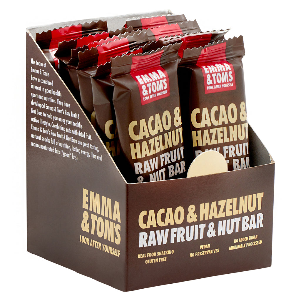 Cacao & Hazelnut Raw Fruit and Nut Bar