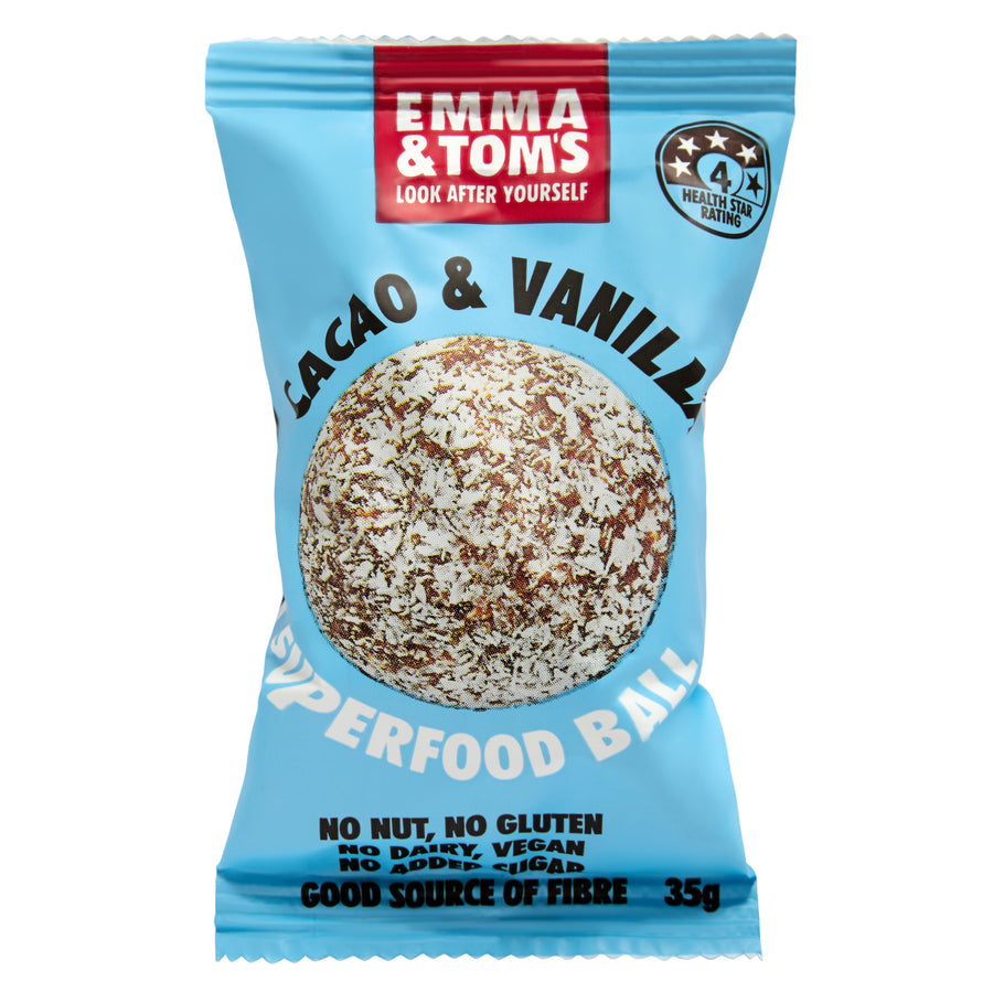 Cacao & Vanilla Superfood Ball