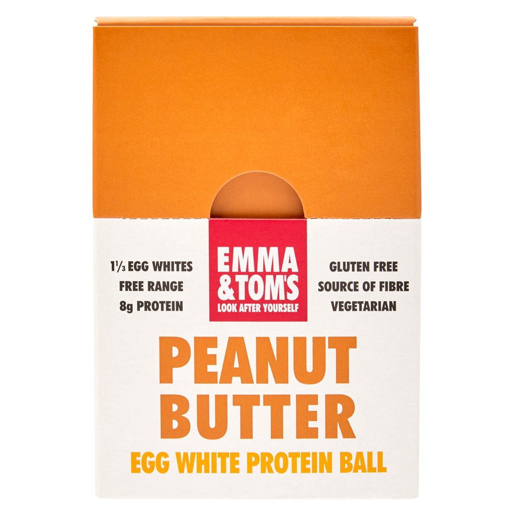 Peanut Butter Egg White Protein Ball