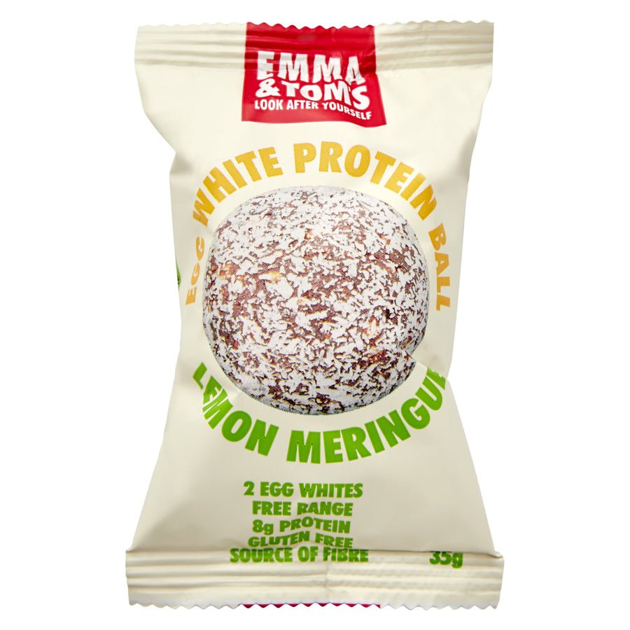 Lemon Meringue Egg White Protein Ball 35gm
