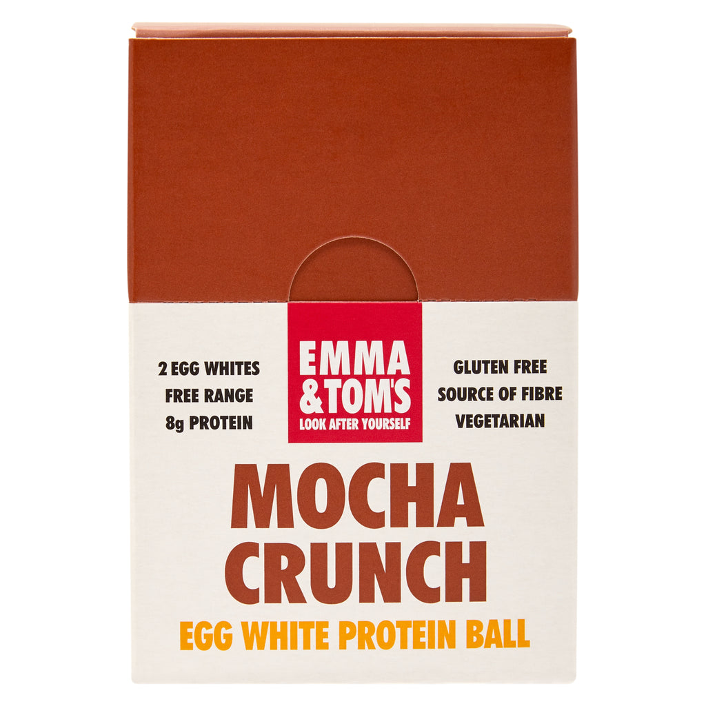 Mocha Egg White Protein Ball 35gm