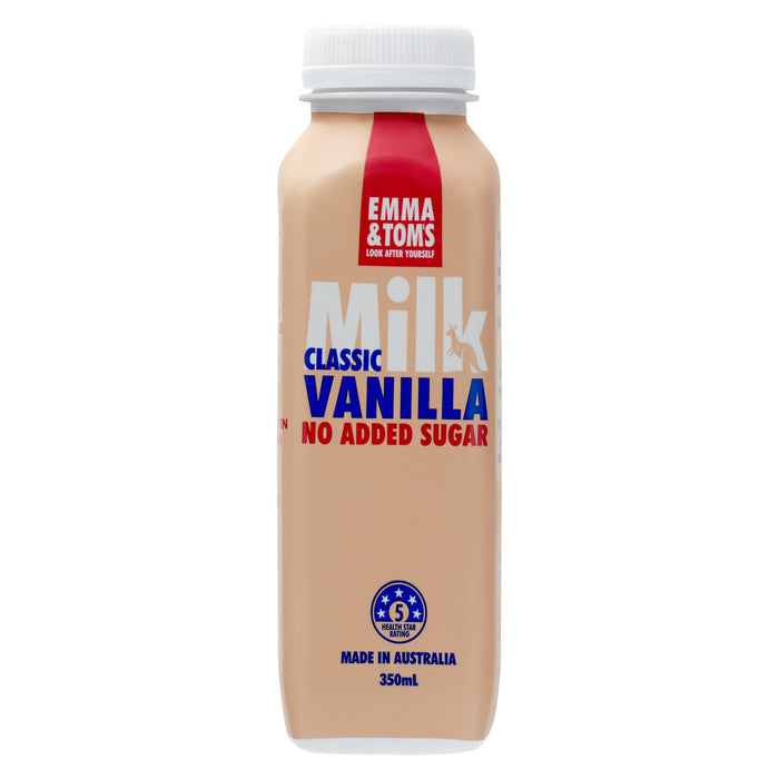 Classic Vanilla Milk PET (Case of 10)