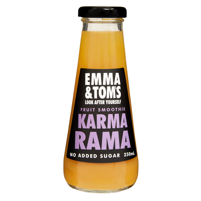 Karma Rama Fruit Smoothie 250ml Glass (case of 12)