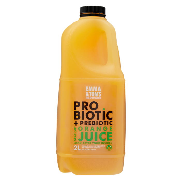 Probiotic + Prebiotic Straight OJ 2L (Case of 6)