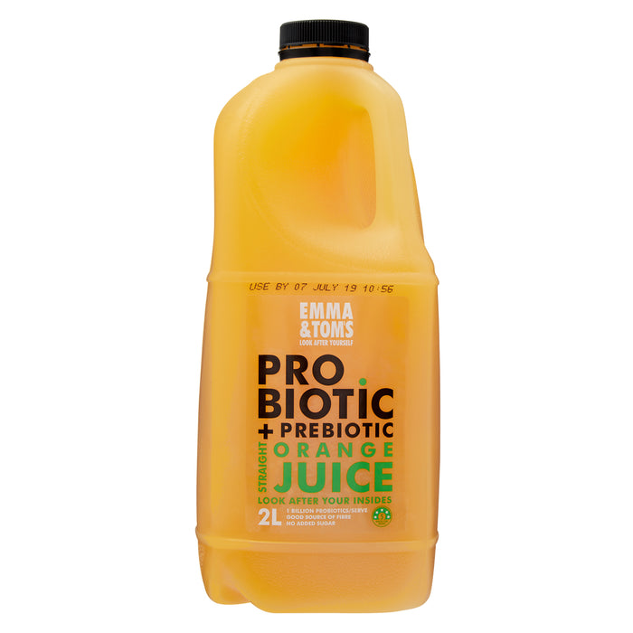 Probiotic with Prebiotic Straight OJ 2L