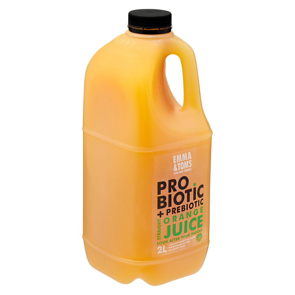 Probiotic with Prebiotic Straight OJ 2L (Case of 6)