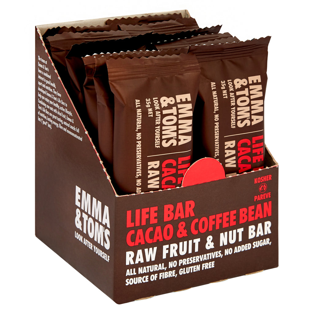 Cacao & Coffee Bean Life Bar