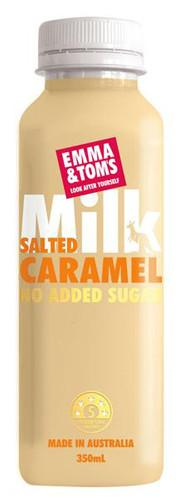 Salted Caramel Milk - Emma and Tom's