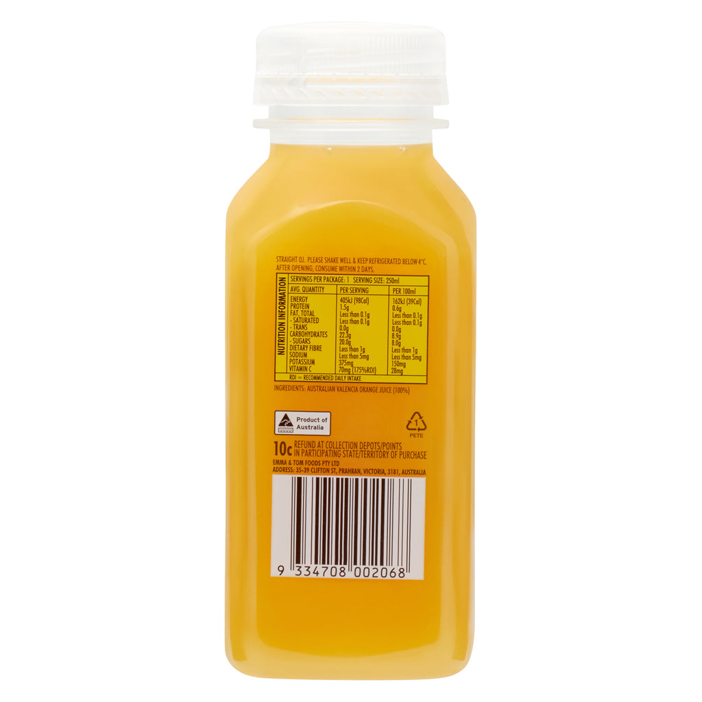 Straight OJ (Case of 10)