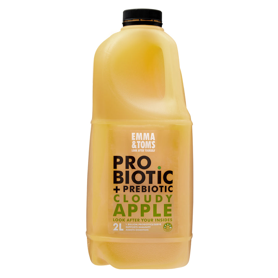 Probiotic + Prebiotic Cloudy Apple 2L (case of 6)