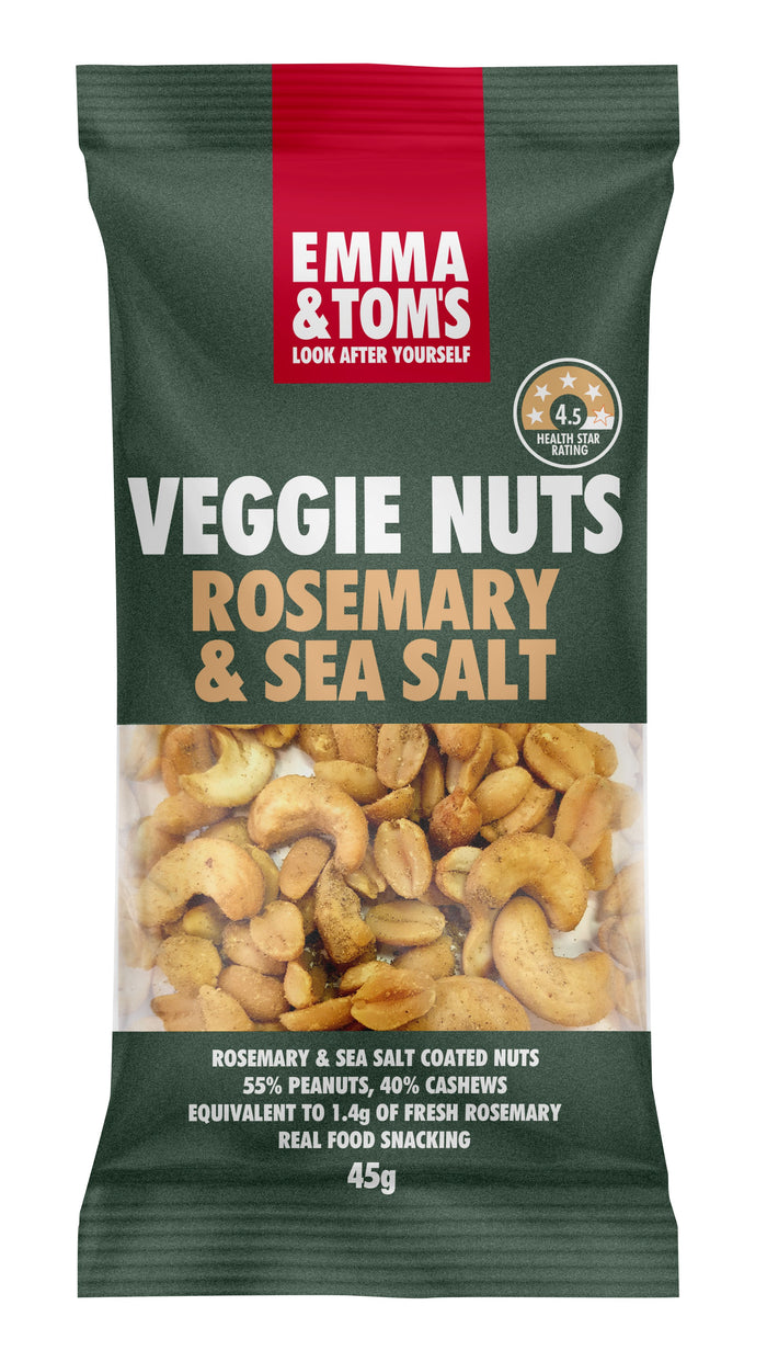 Rosemary & Sea Salt Veggie Nuts