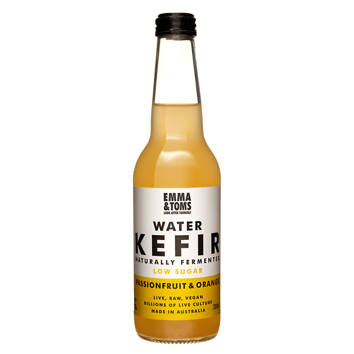 Water Kefir Passionfruit & Orange (Case of 12)