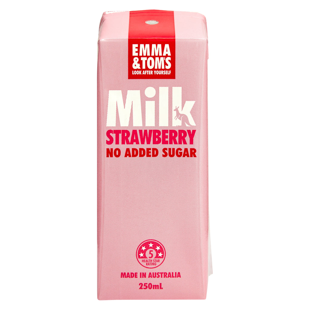 TetraPak 24*250ml Strawberry Milk
