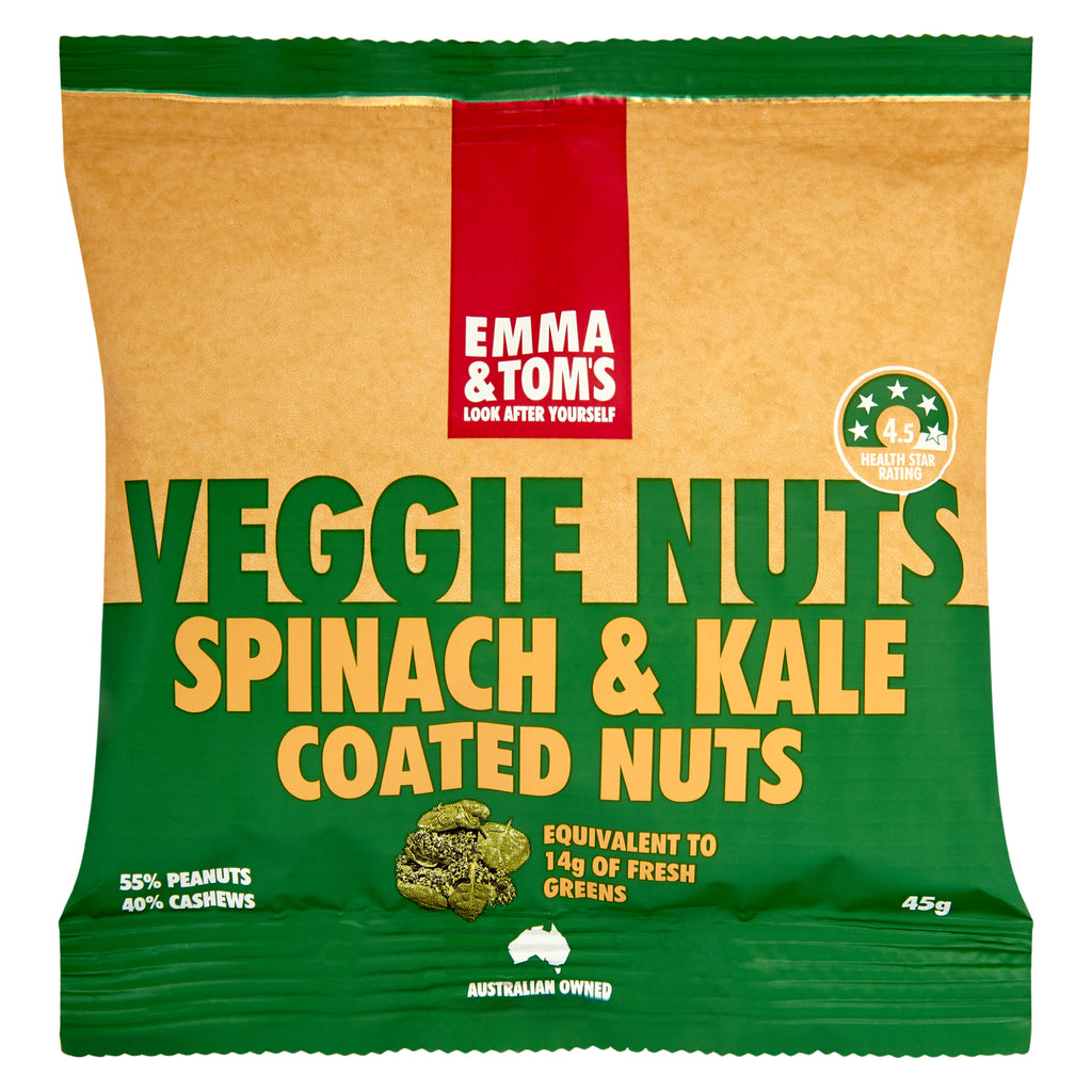 Spinach & Kale Veggie Nuts