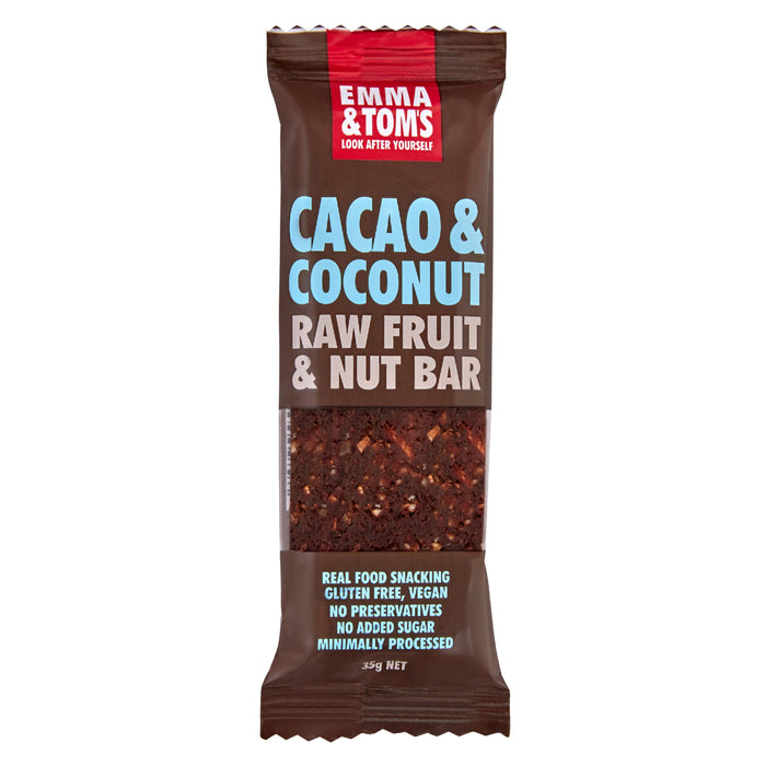 Cacao & Coconut Raw Fruit and Nut Bar
