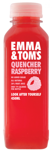 Raspberry Quencher - Emma and Tom's