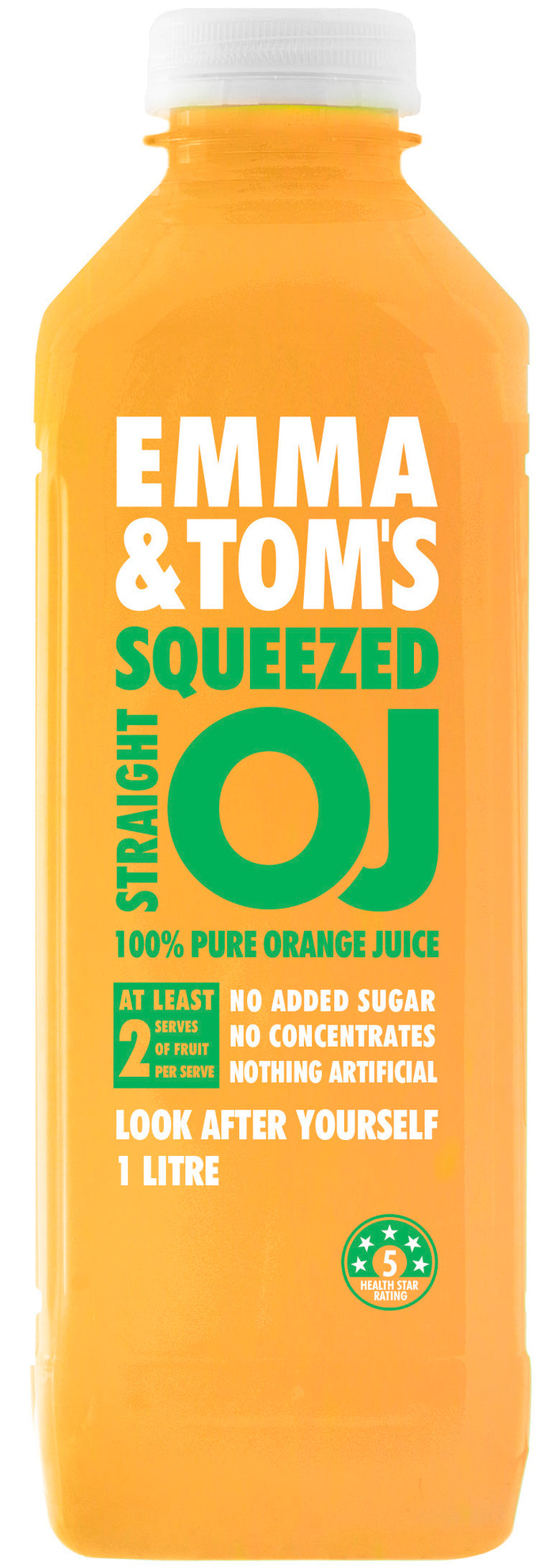 Straight OJ 1L (Case of 6)