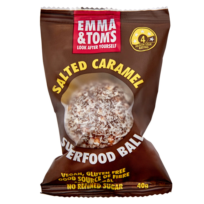 Salted Caramel Superfood Ball 12*40gm