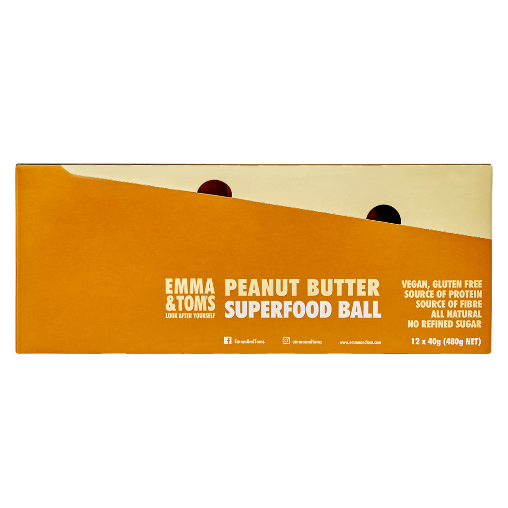 Peanut Butter Superfood Ball 12*40gm