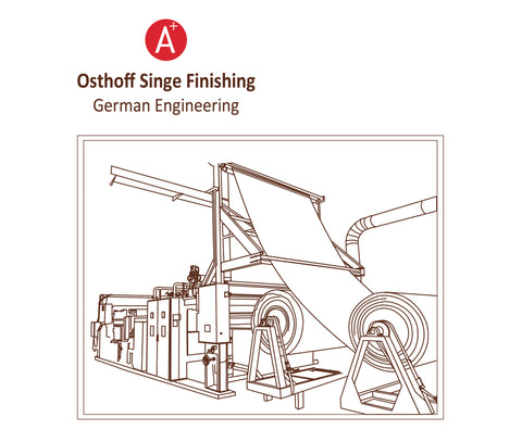 Aplus Linen Osthoff singe finishing